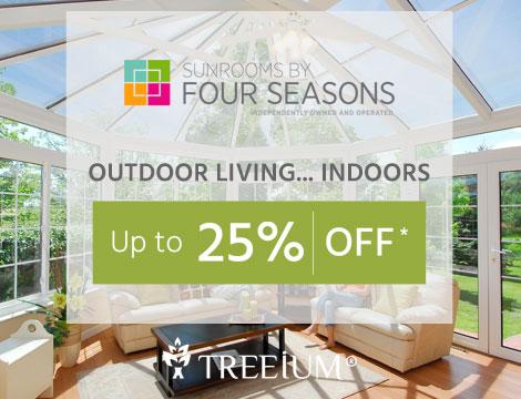 Four Seasons Sunroom Promotion