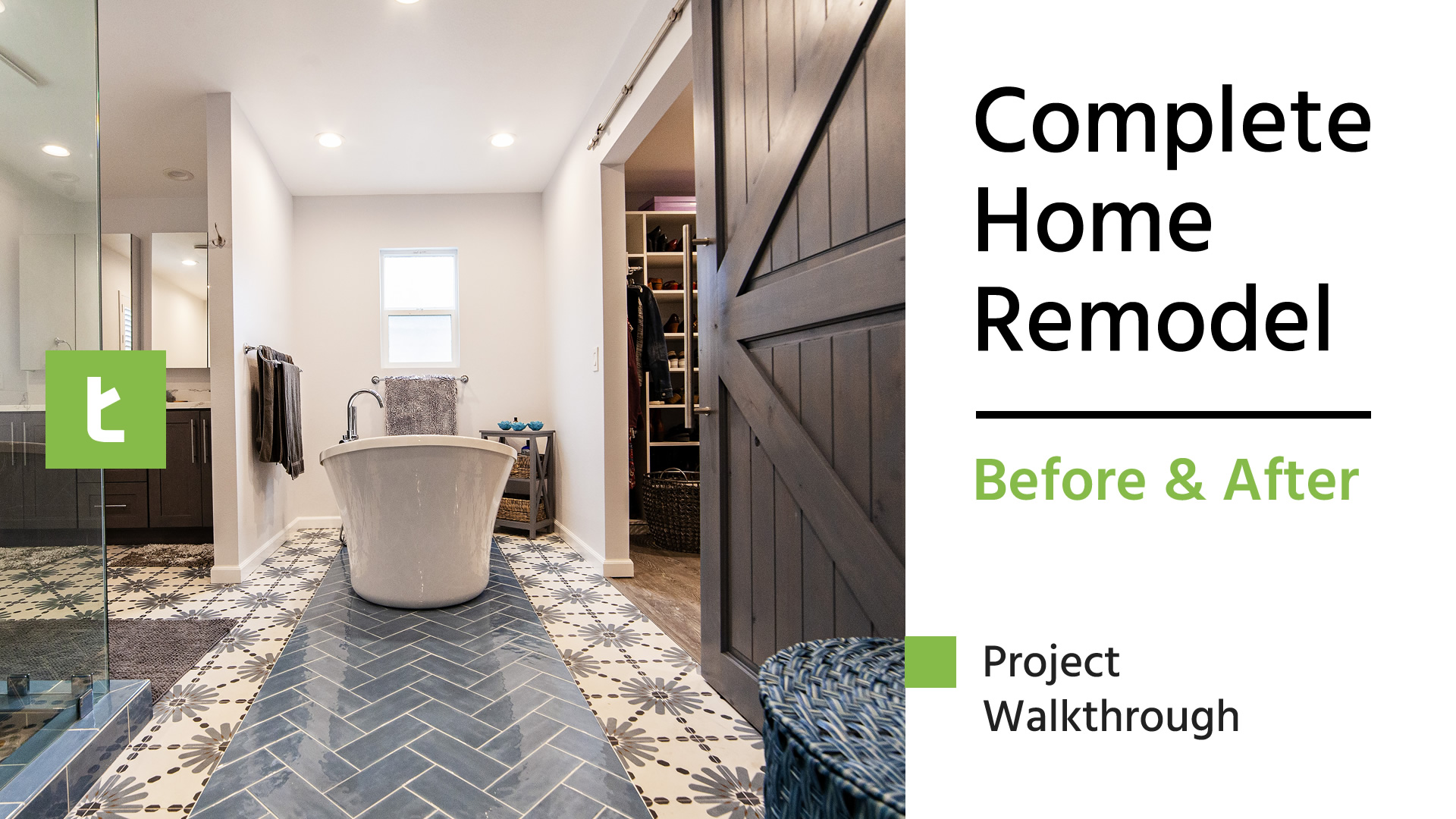Complete Home Remodel   Before & After Transformation